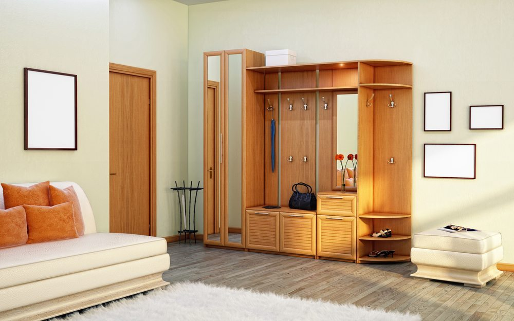 garderobe sorgen sie f r ordnung im flur. Black Bedroom Furniture Sets. Home Design Ideas